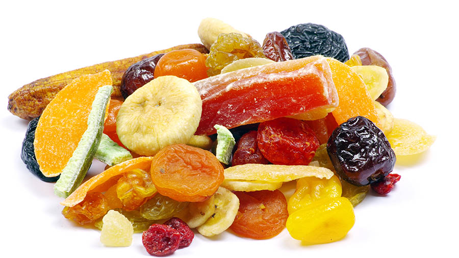 Frutas deshidratadas para cocina y repostería