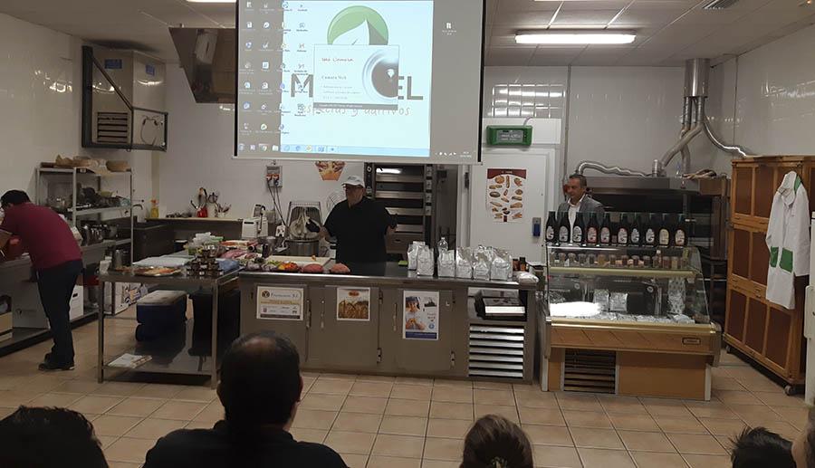 Taller Mampel y Pagani Chef en el Gremio de Carniceros de Castellón