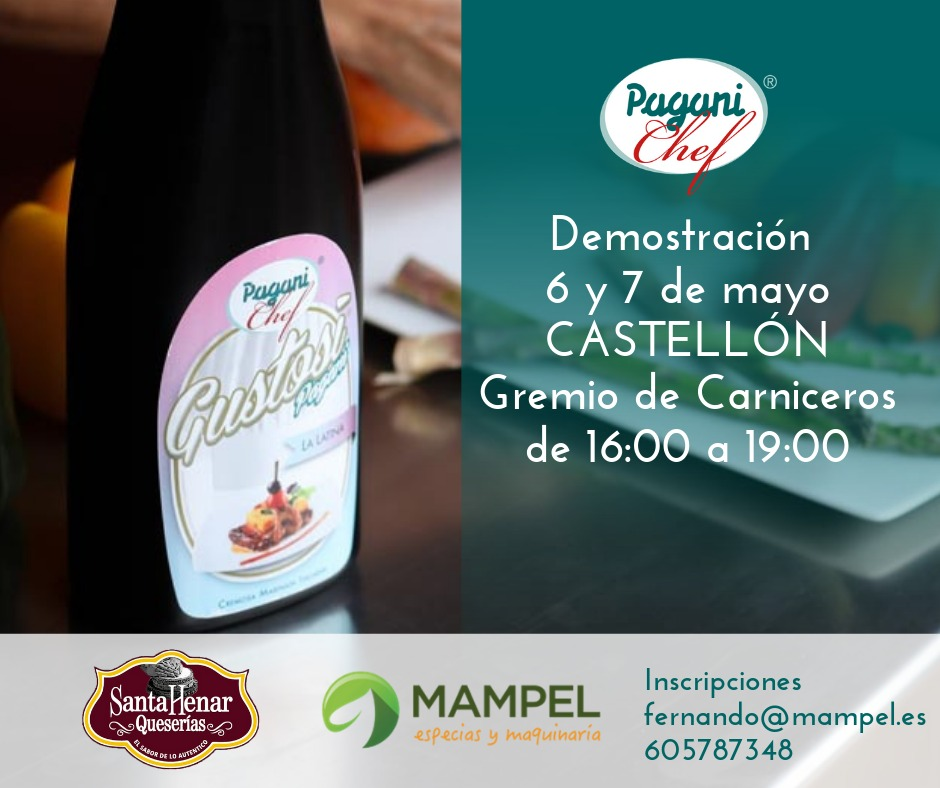 Demostración productos Mampel